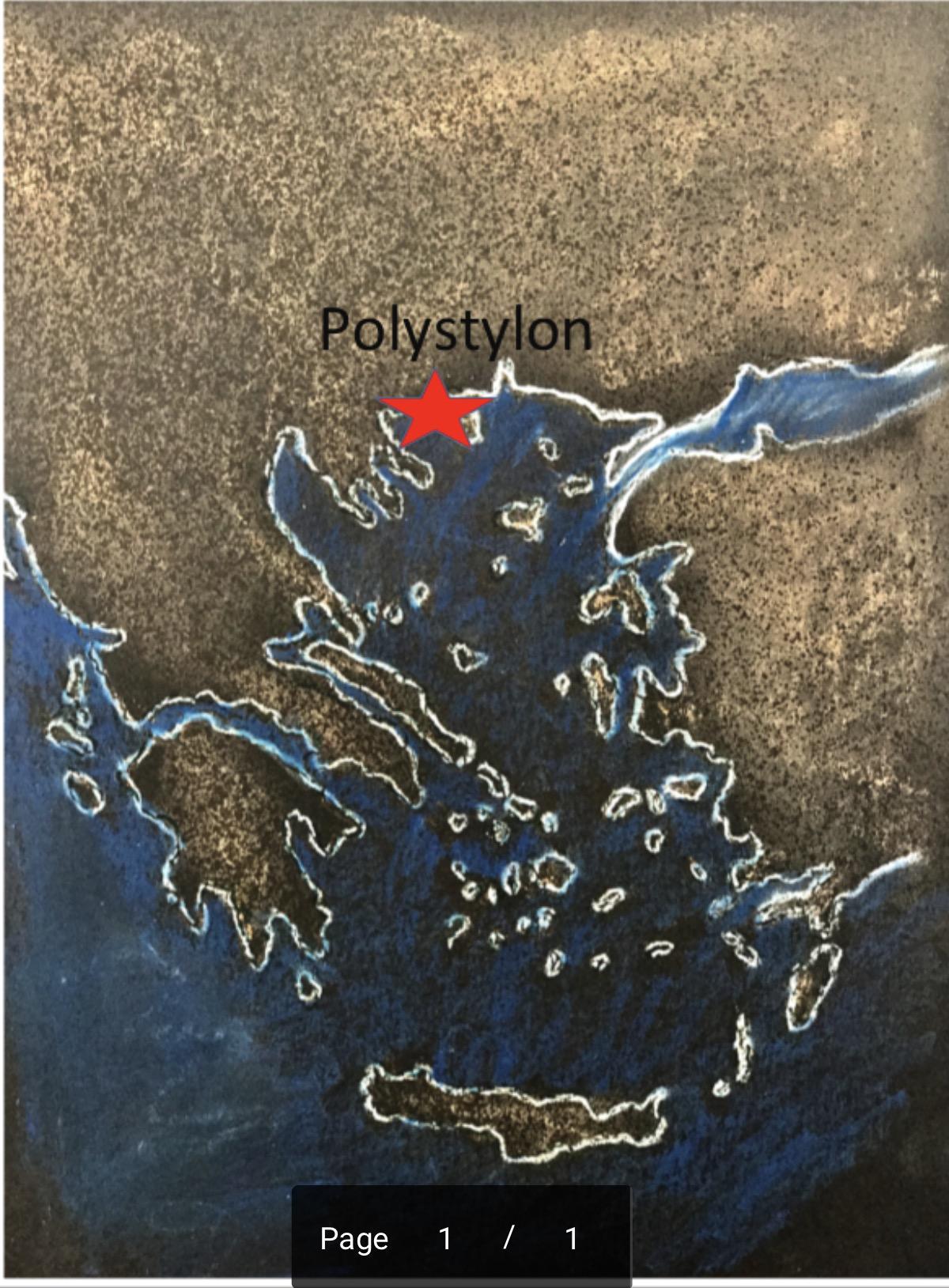 Location of Polystylon