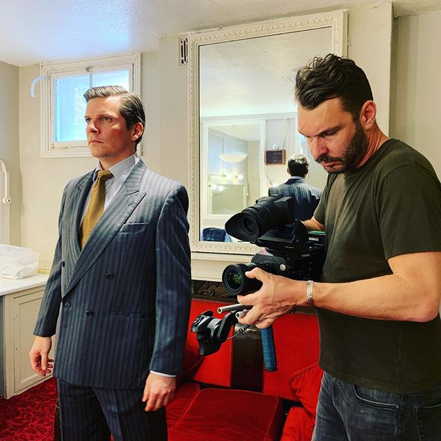 A great day filming with @nigelharmanofficial yesterday @theatreroyalbtn for the @artsedlondon centenary film out in Sept 19. The films feature alumni from the school including @lashanalynch who was announced as the new Bond girl yesterday! Can't wait to see the edits from @adamlovedaybrown #artsed #film #filmproducer #filmdirector #director #brighton #theatre #musicaltheatre