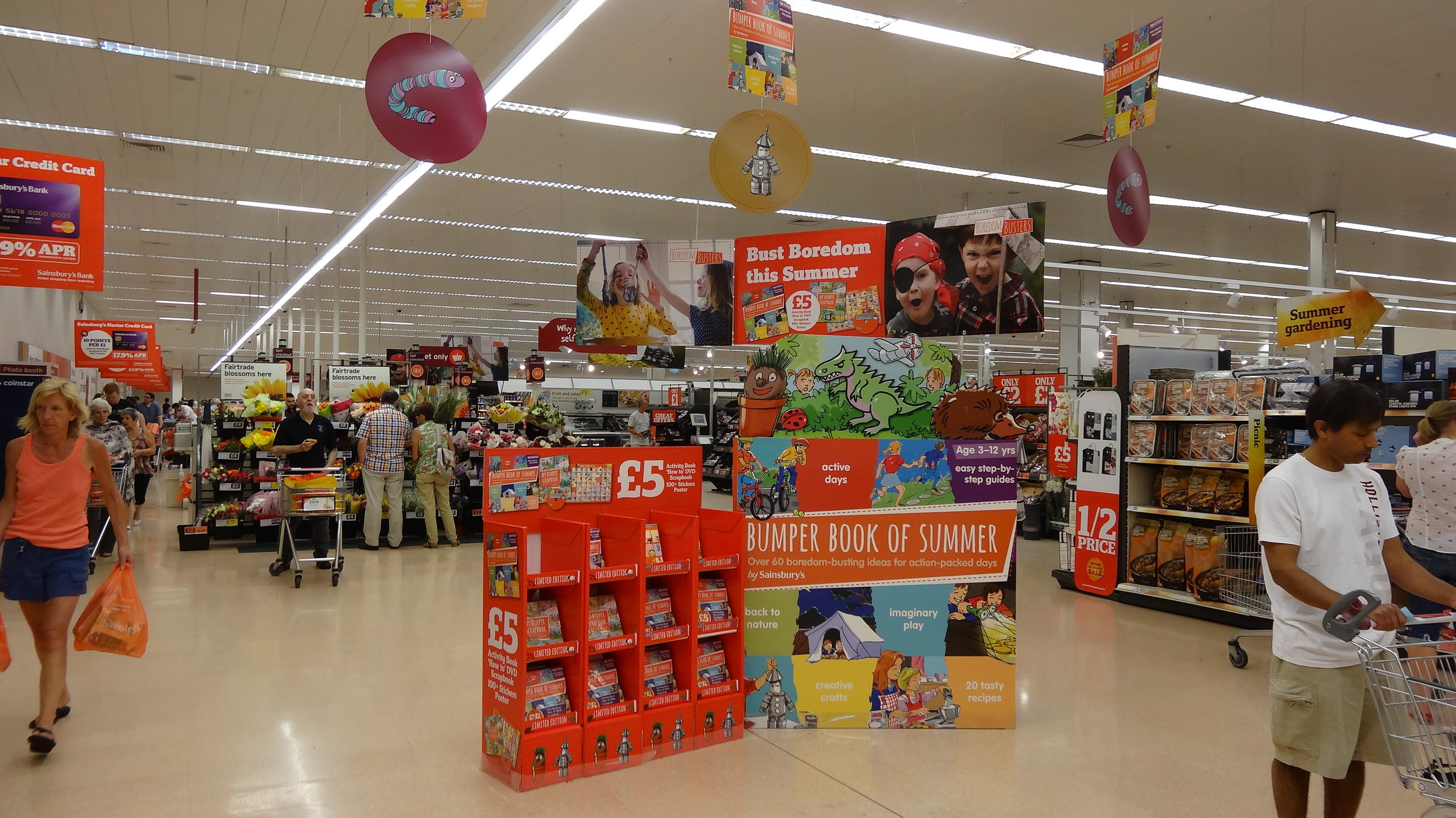 Sainsbury's - 'Bumper Book of Summer