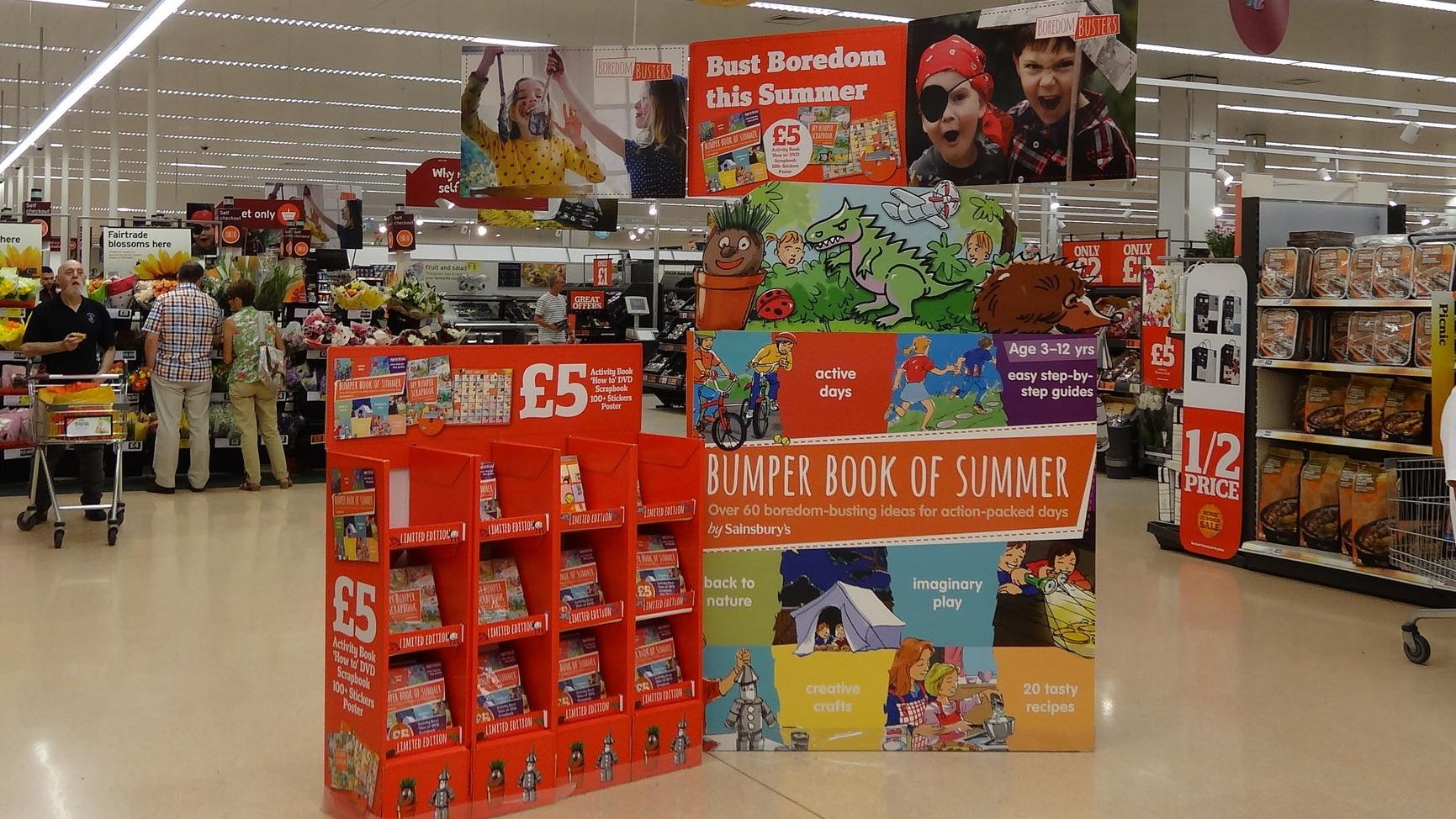 'Bumper Book of Summer' - Sainsbury's