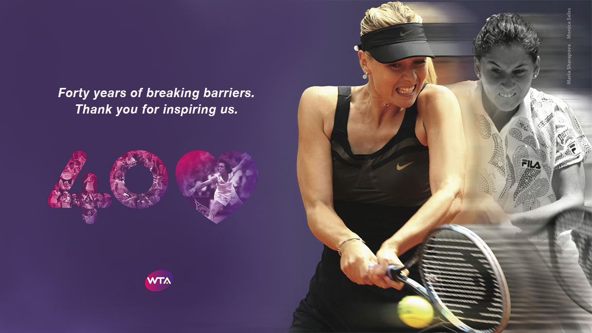 'Equal Pay' - the Women's Tennis Association