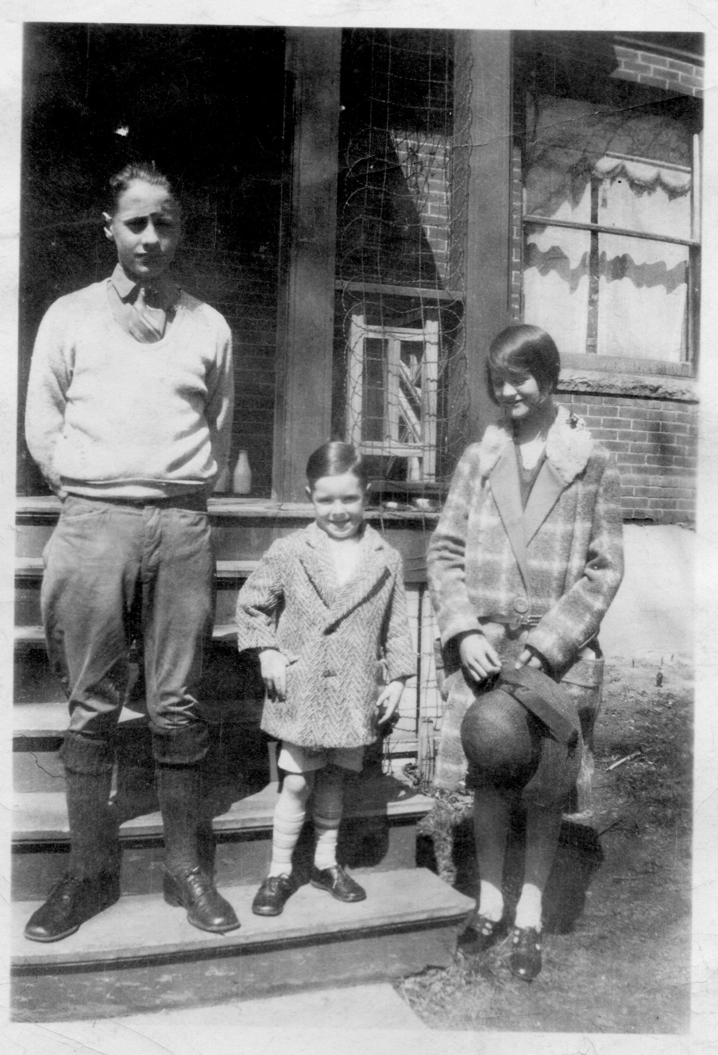 Jack Roby, Jack Holman & Frances Roby