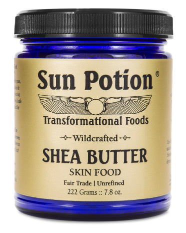SHEA BUTTER   Oh hello smooth baby's butt. This shit is magic. I apply it all over my body then practice air bathing while it dries. Basically walk around my apartment naked until it soaks into my skin. It really is skin food.