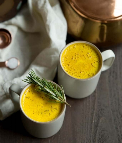 Turmeric Bone Broth Latte