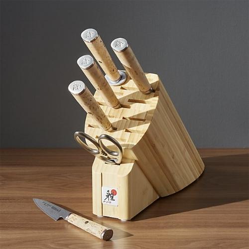 Miyabi Birchwood Knife Block