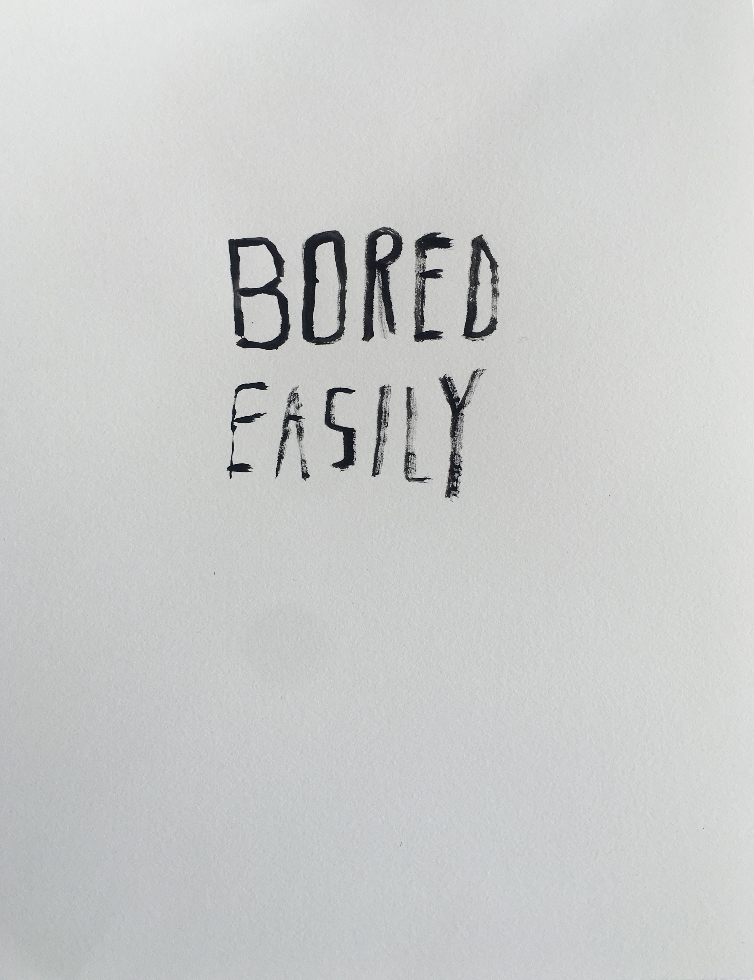 """Image from the exhibit """"Bored Easily"""" by Josh Bolin"""