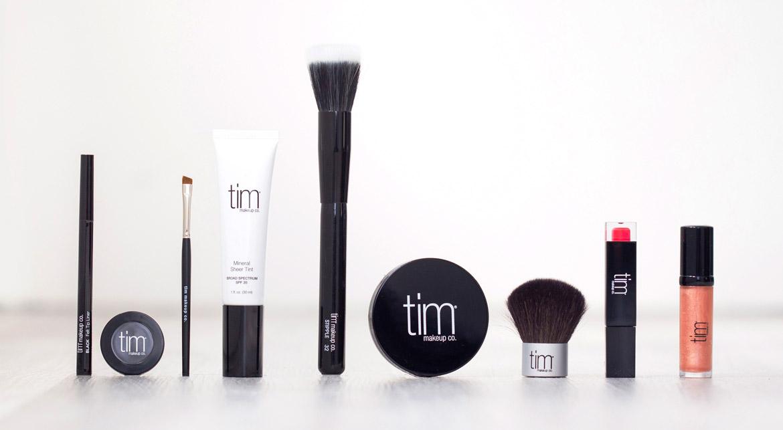 tim makeup collection