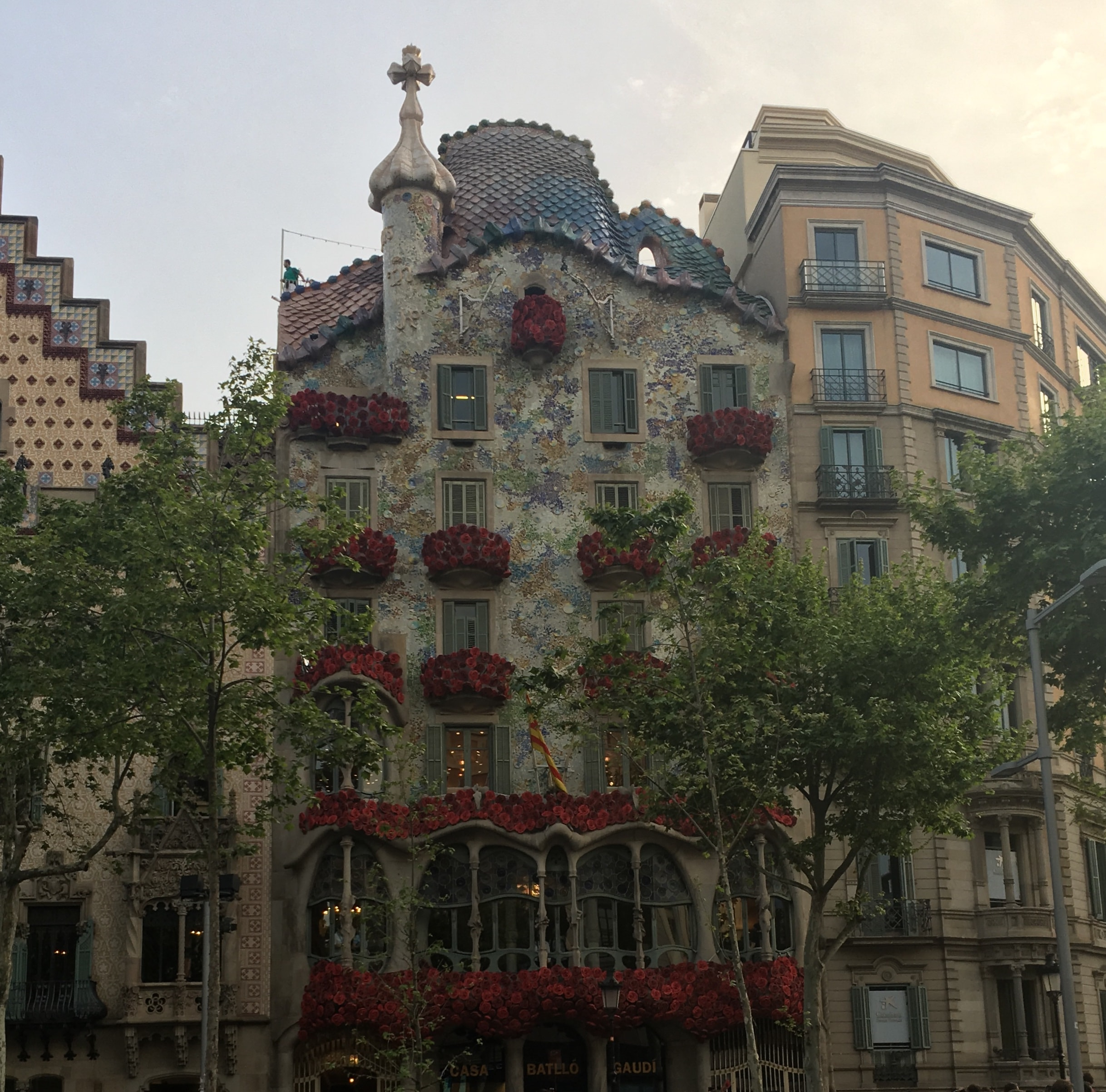 Casa Batlló - one of gaudi's cribs