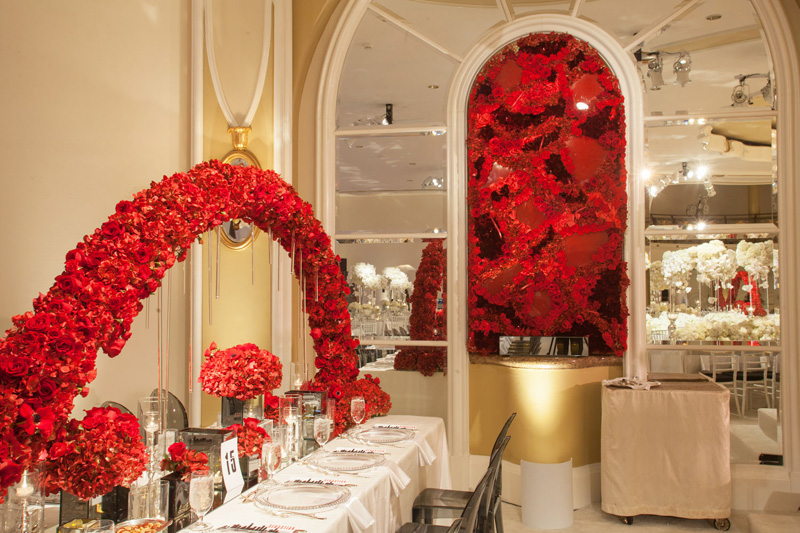Shawna Yamamoto Floral Design | Mission Impossible Mitzvah at the Beverly Hills Hotel | Red and White _ (6).jpg