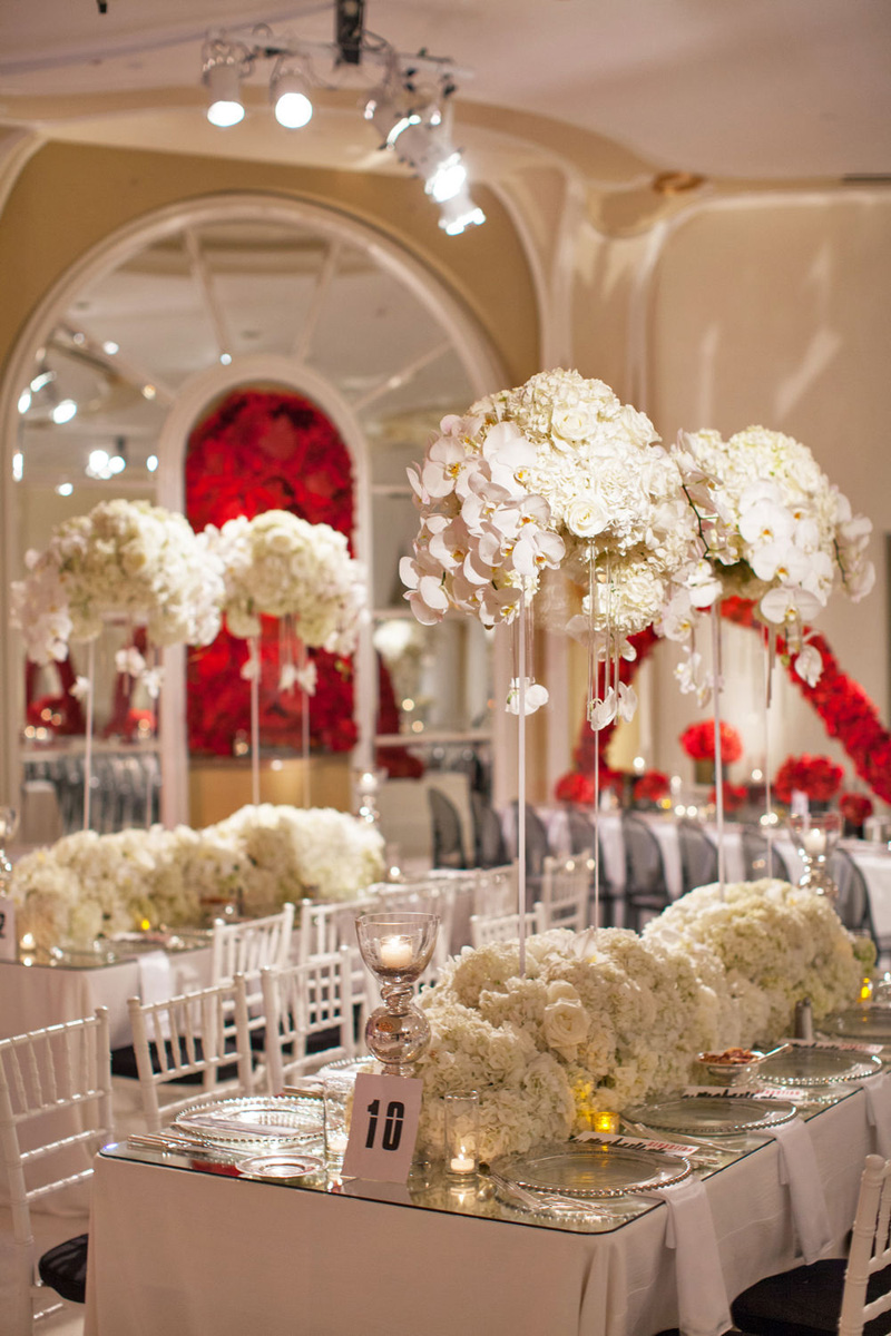 Shawna Yamamoto Floral Design | Mission Impossible Mitzvah at the Beverly Hills Hotel | Red and White _ (5).jpg