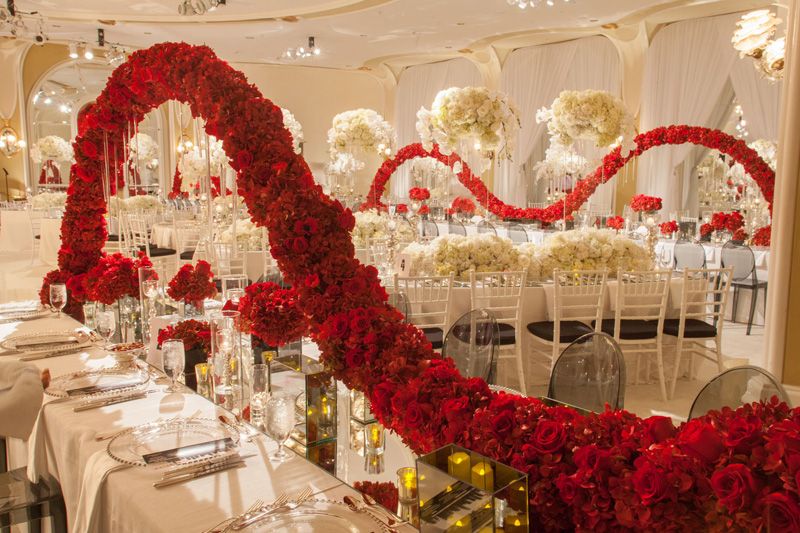 Shawna Yamamoto Floral Design | Mission Impossible Mitzvah at the Beverly Hills Hotel | Red and White _ (7).jpg