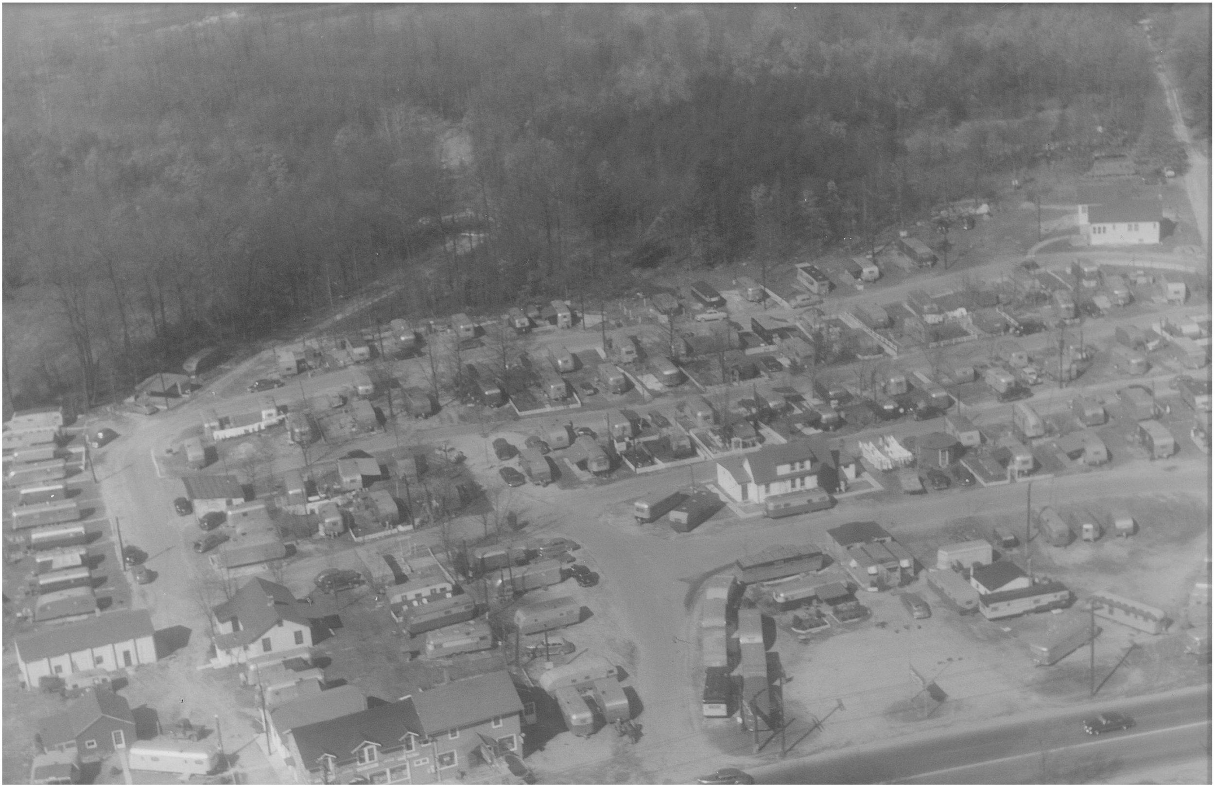 Cherry Hill Campcity, 1950