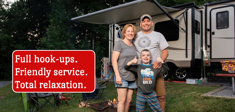 RV Sites - Washington, DC Camping   Cherry Hill Park