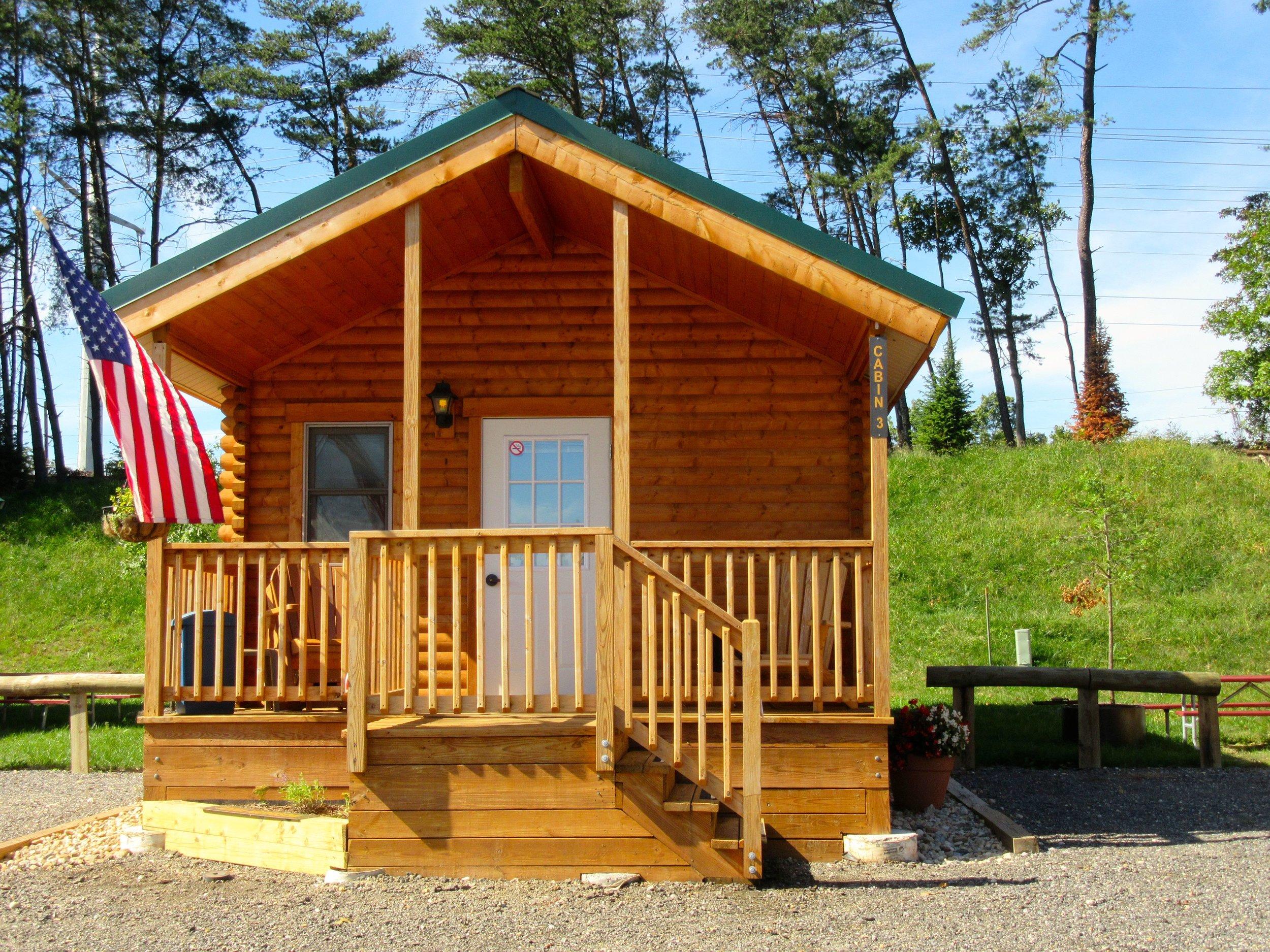 Premium Log Cabin at Cherry Hill Park