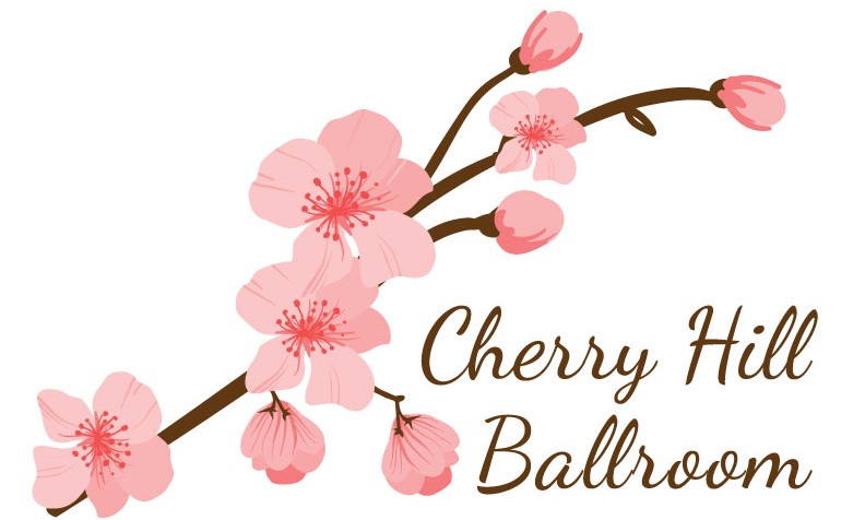Cherry Hill Ballroom Logo Cherry Blossoms