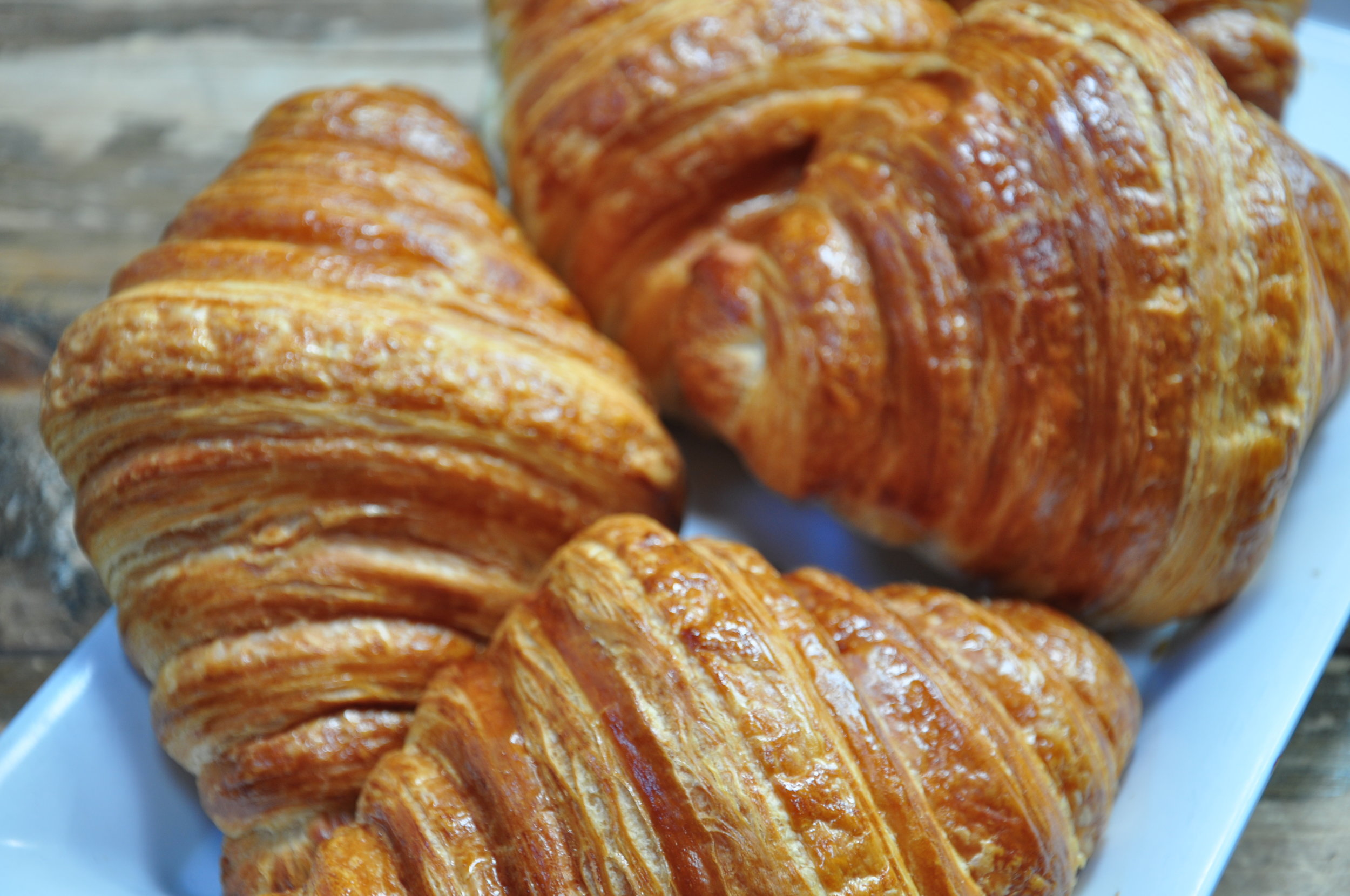 We Serve Fresh pastries - Baked Daily