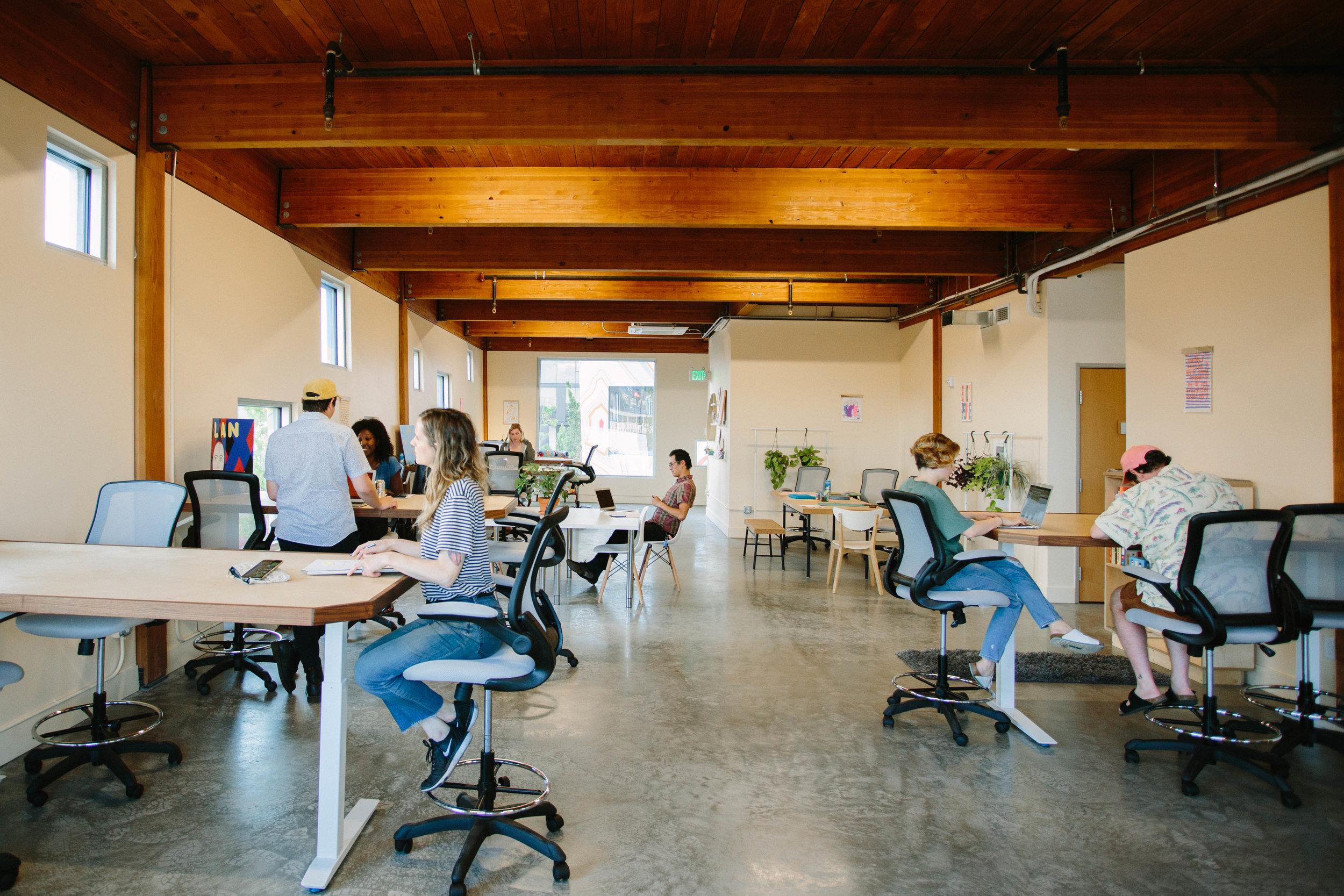 coworking space portland