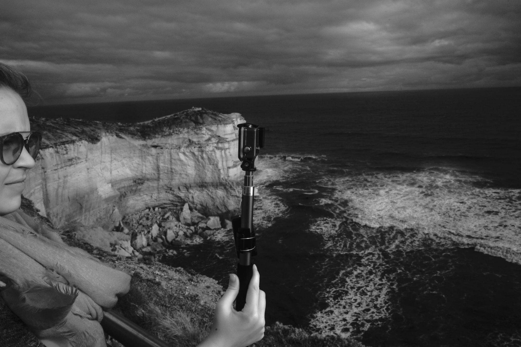 Selfie With Cliffs