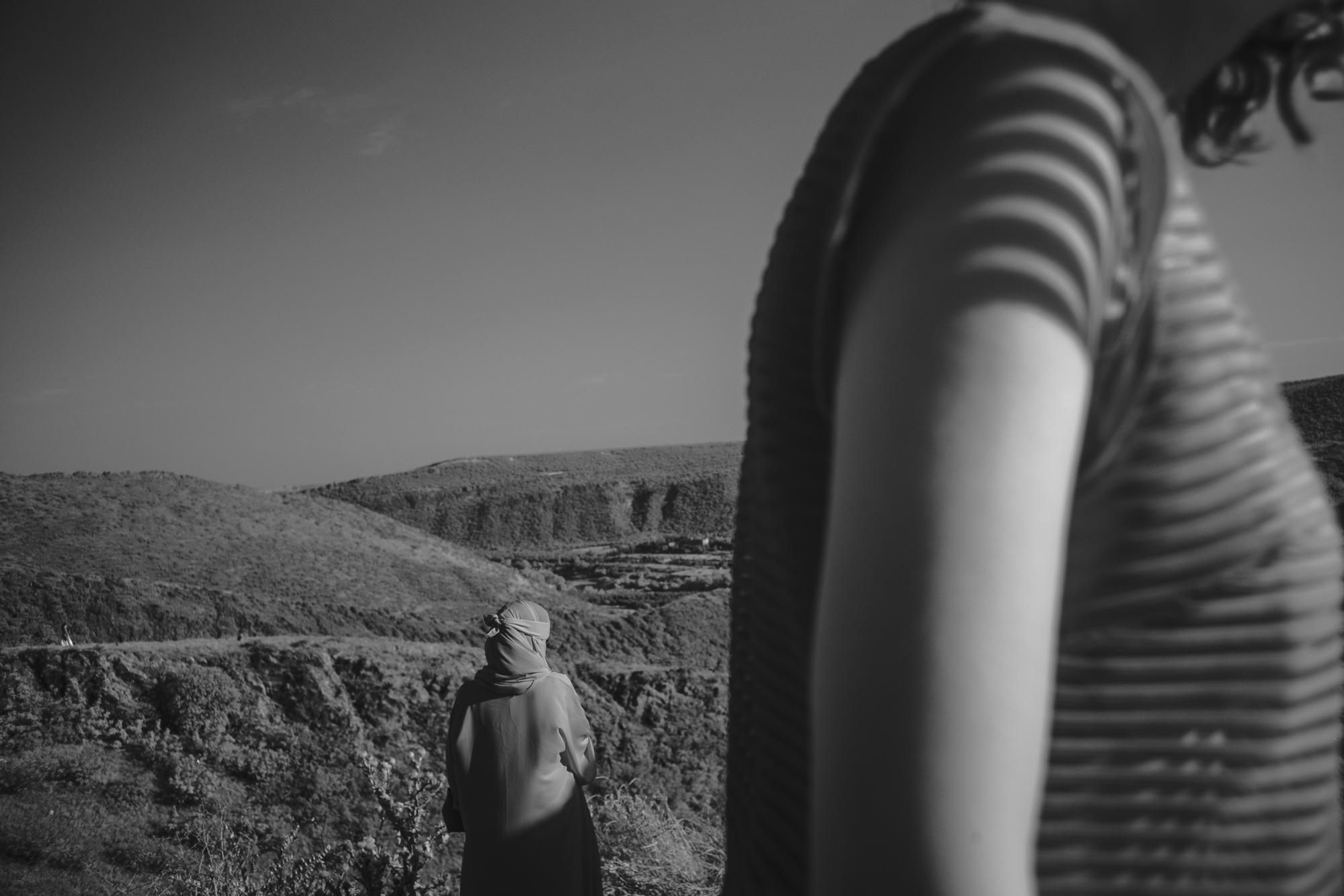 Women in Landscape