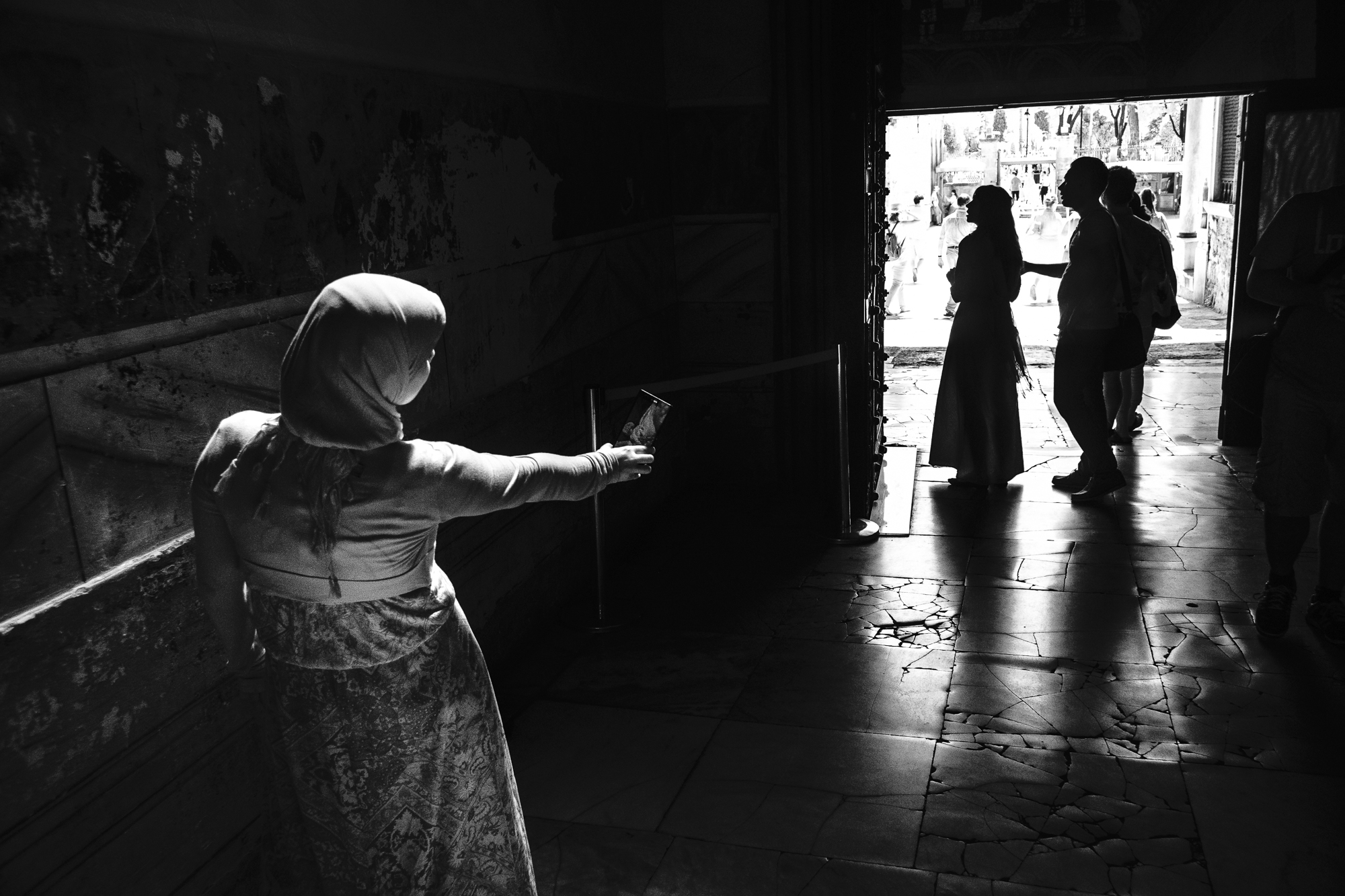 Hagia Sophia Selfie