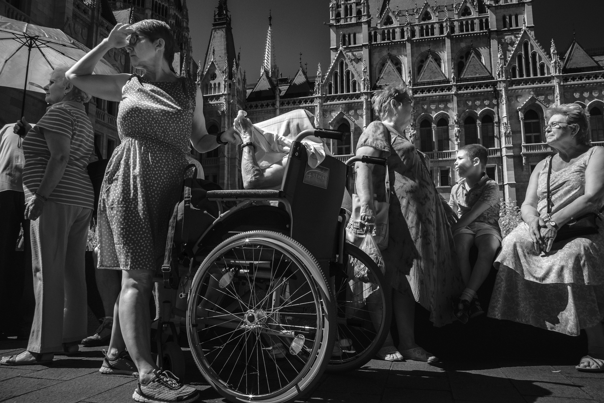 Wheelchair in Queue