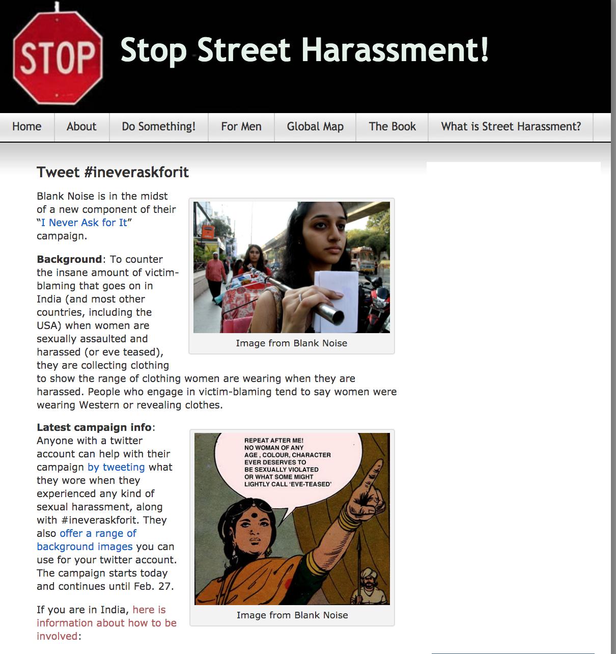 Stop Street Harassment, 2017