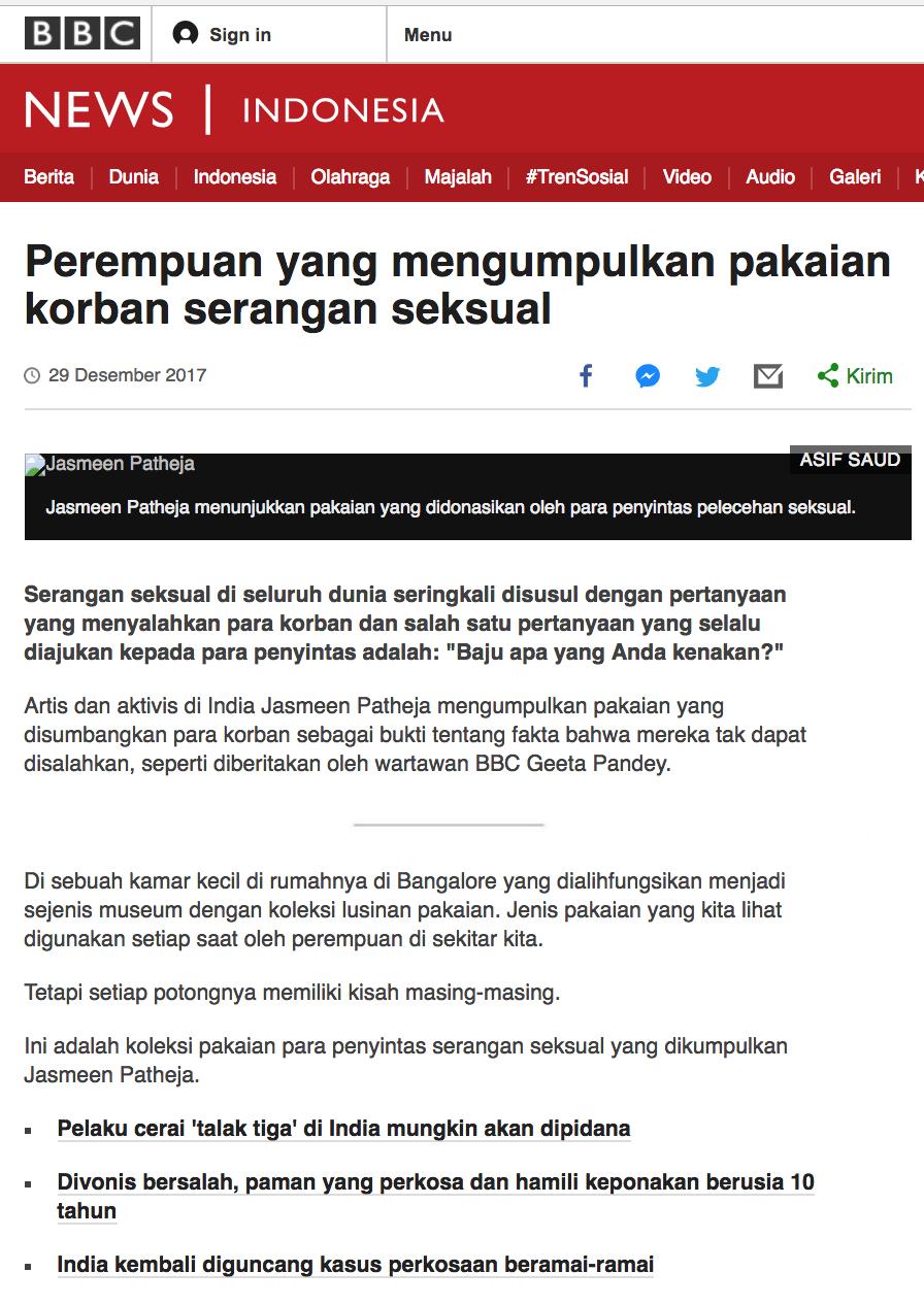 BBC Indonesia, 2017