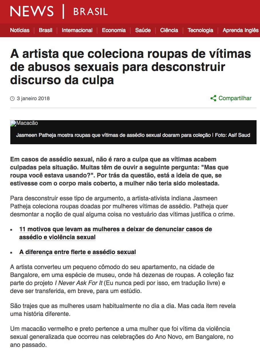 BBC Brazil, 2018