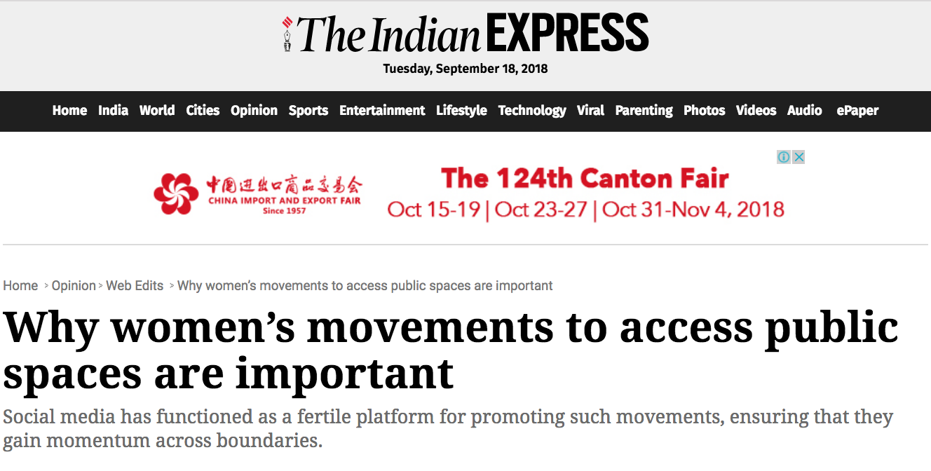 The Indian Express, 2016