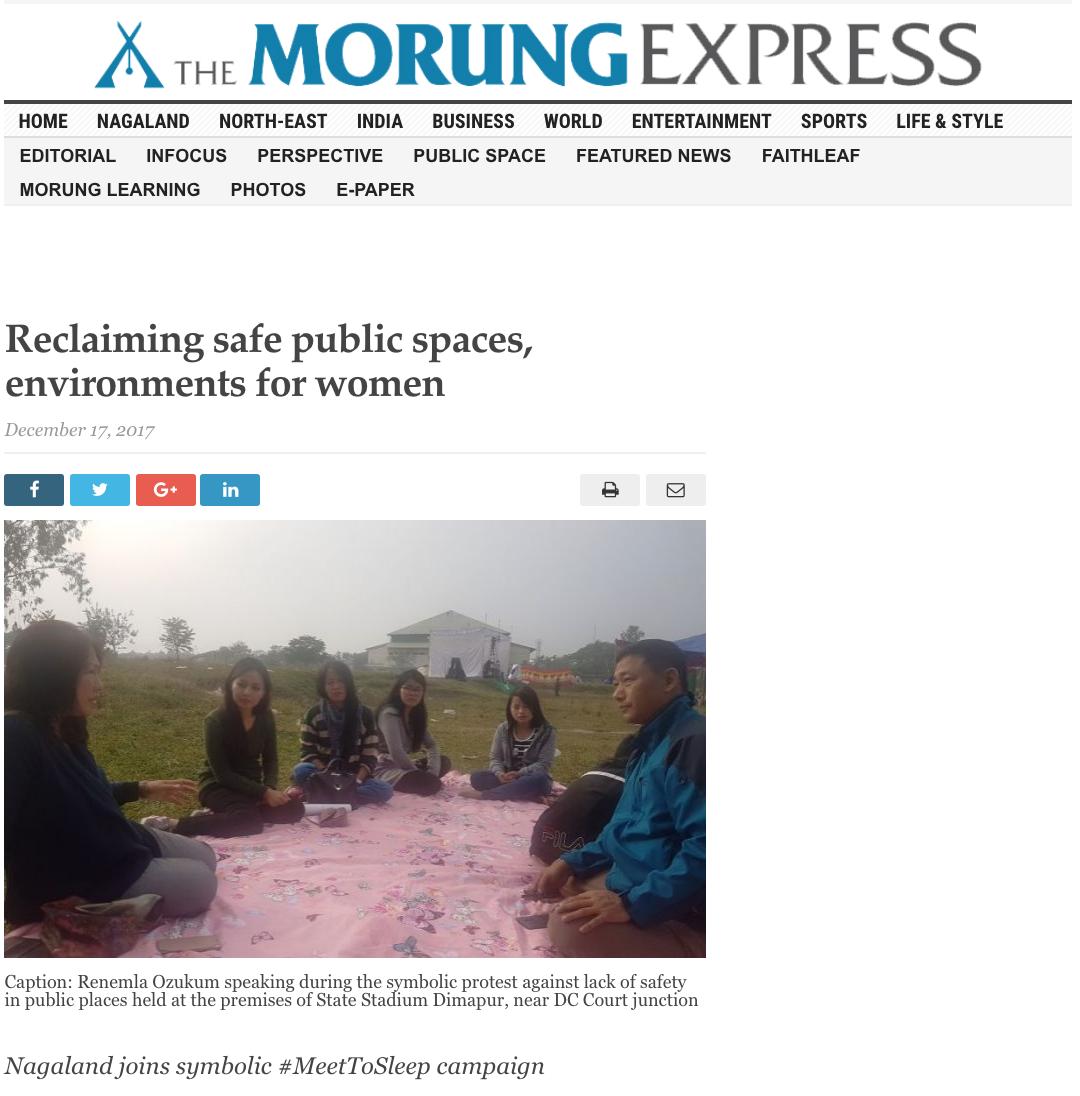 The Morung Express, 2017