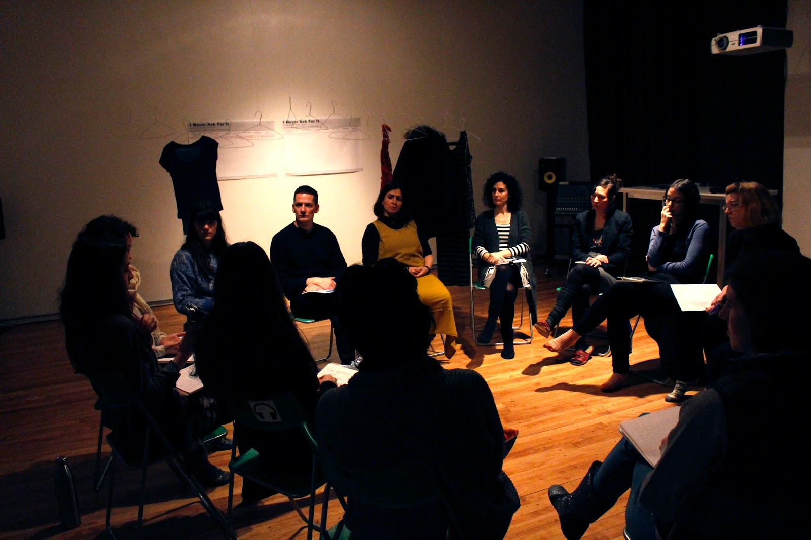 Listening Circle - We facilitate workshops and sessions.