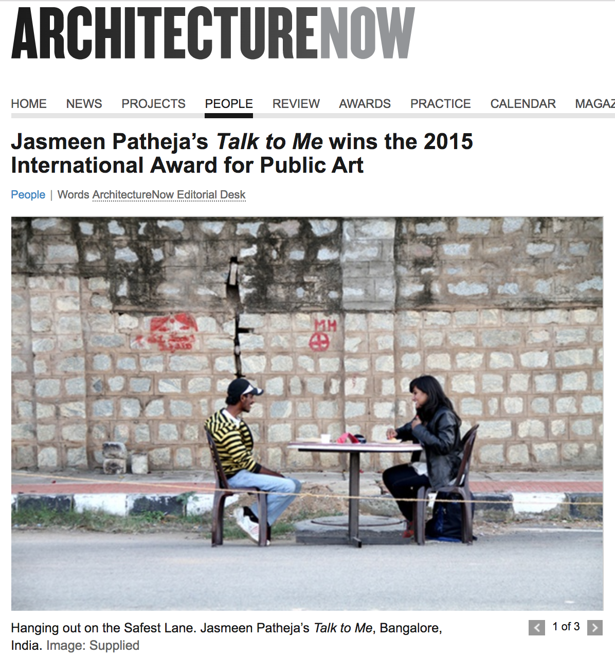 Architecture Now, 2015