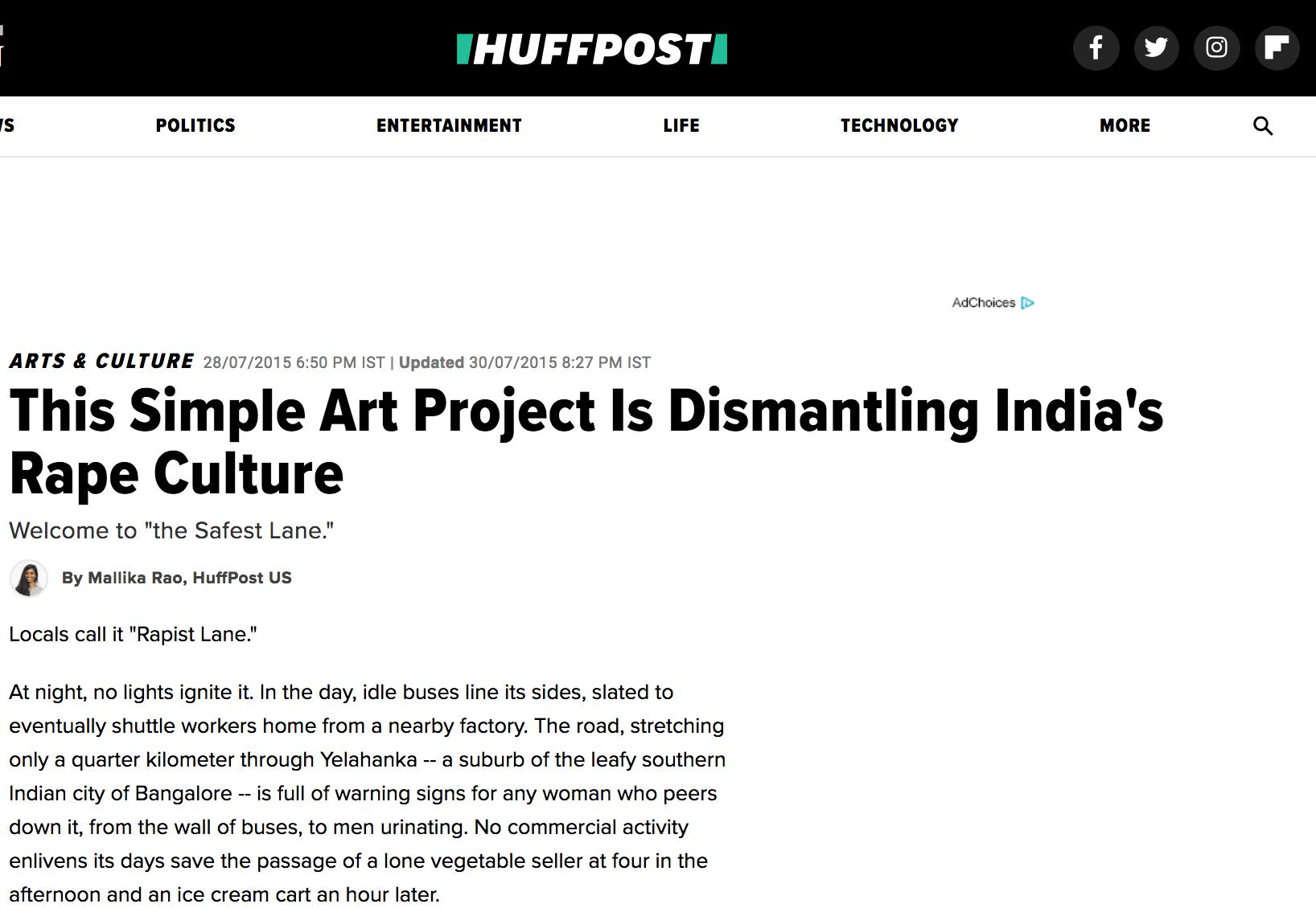 The Huffington Post, 2015