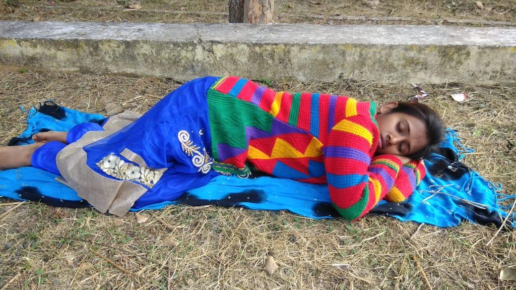 Meet To Sleep, Hazaribag , Nirmal Mahto Park, Srijan Foundation and Babita Kumari, in association with CREA. Photo credit: Babita Kumari