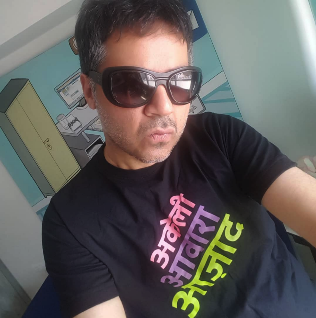 Parmesh Shahani, Head at Godrej India Culture Labs, Author, Curator and Friend of Blank Noise