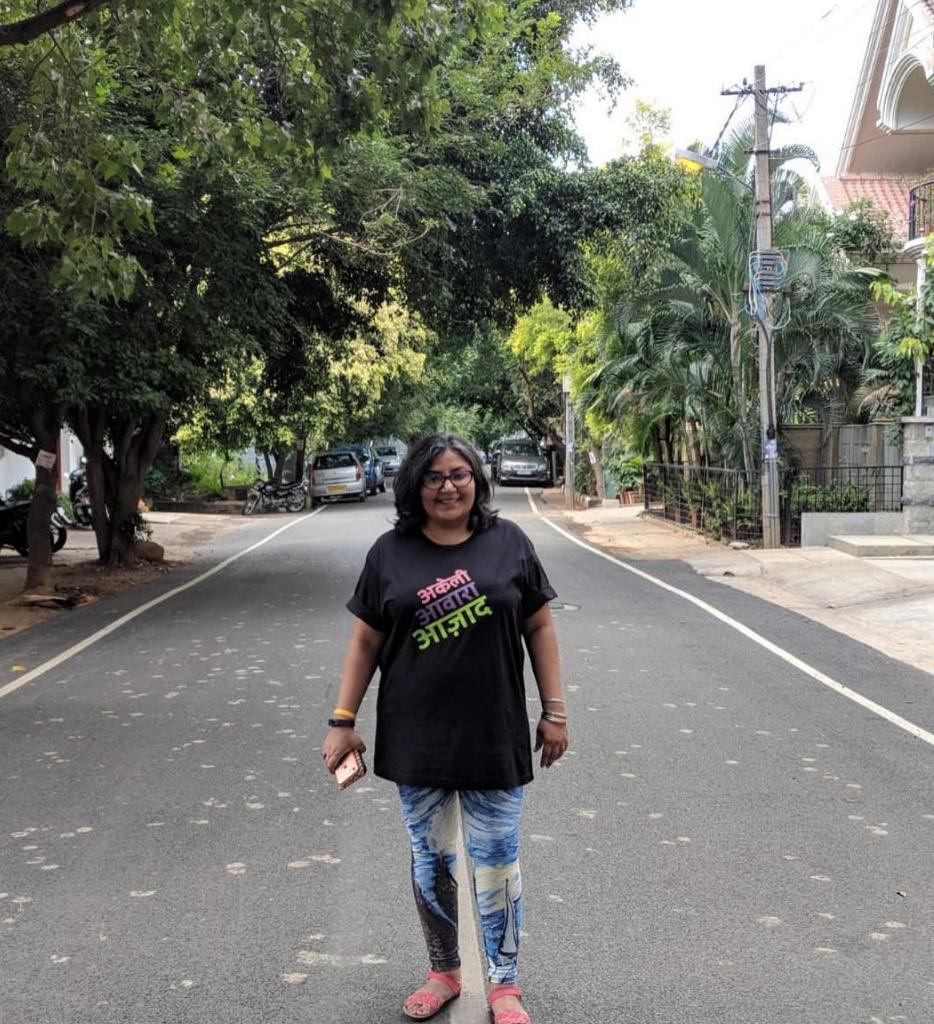 Darshana Dave, Bangalore