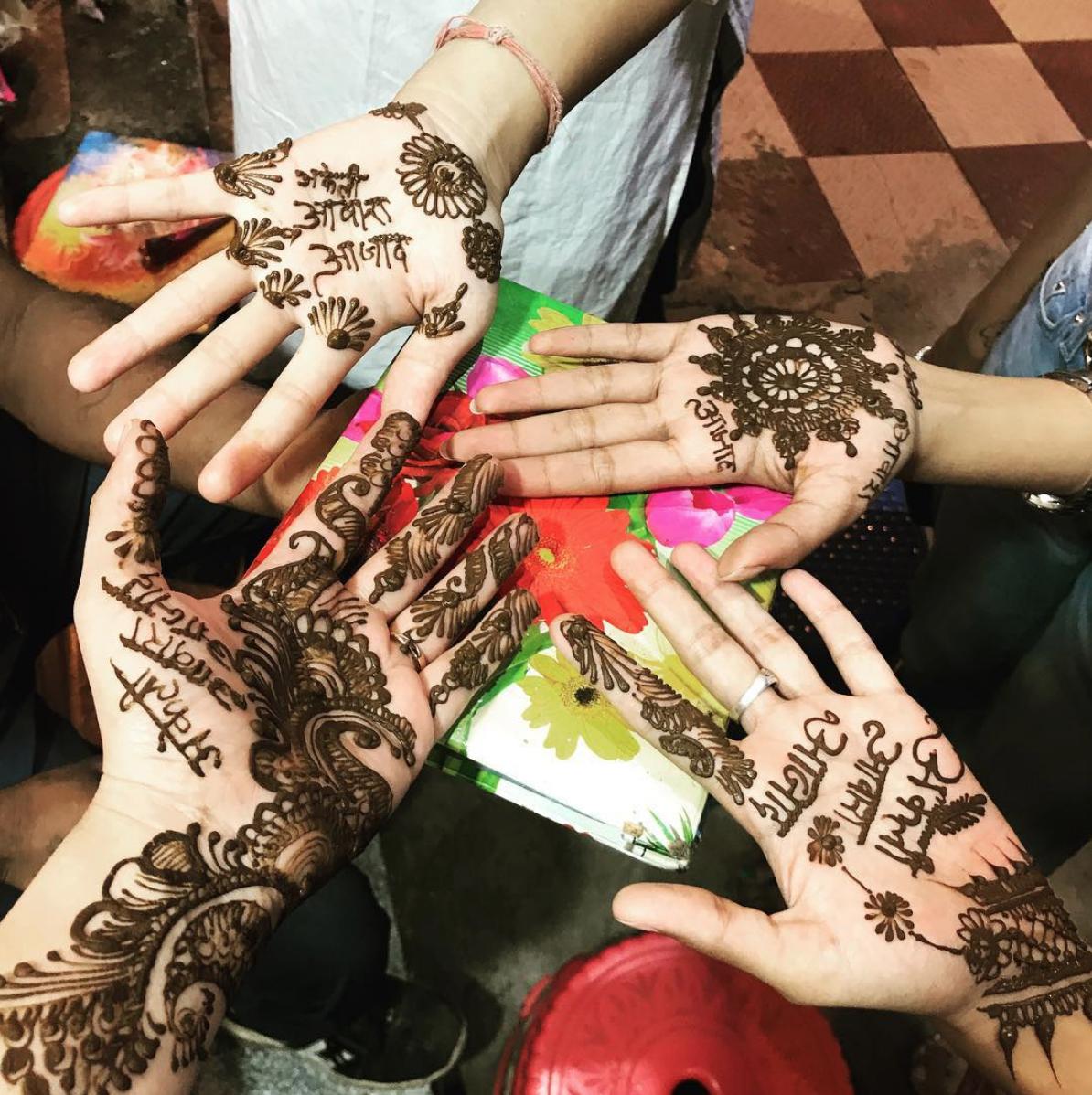 Action Sheroes Aditi Majumdar, Eeshita Kapadiya, Lisa M Keighery, Jasmeen Patheja