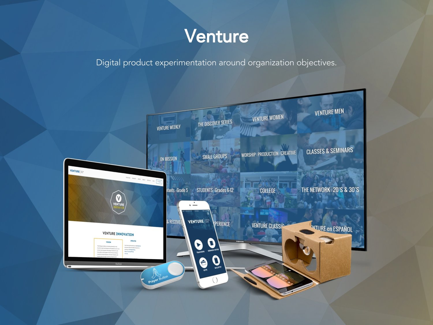 With campus attendance maxed out and still growing, Venture wanted to extend its reach into new digital realms.