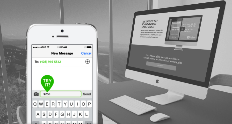 Implemented a mobile-based SMS giving system, which increased online giving by over $1.5M.