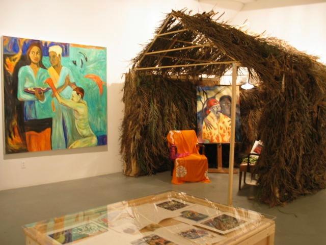 Gauguin's Zombie -White Box, NY