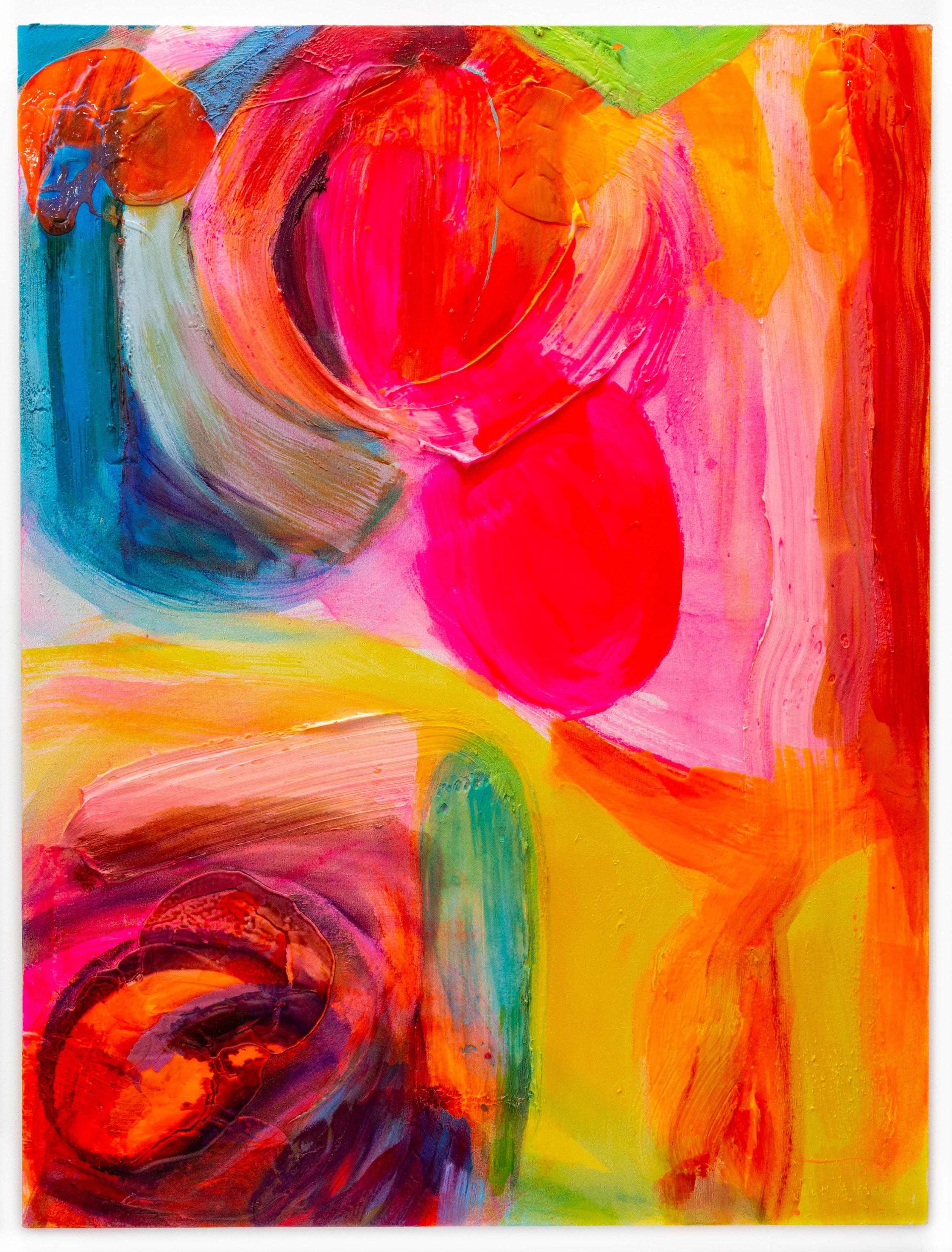 Violet Orange Spin