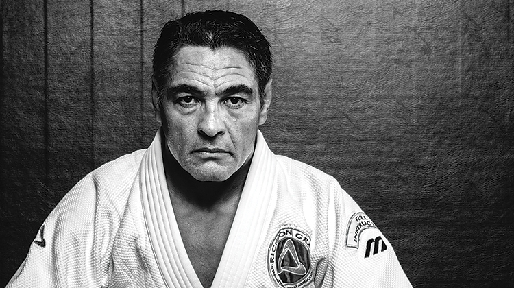 IF SIZE MATTERED, THE ELEPHANT WOULD BE THE KING OF THE JUNGLE. - Rickson Gracie