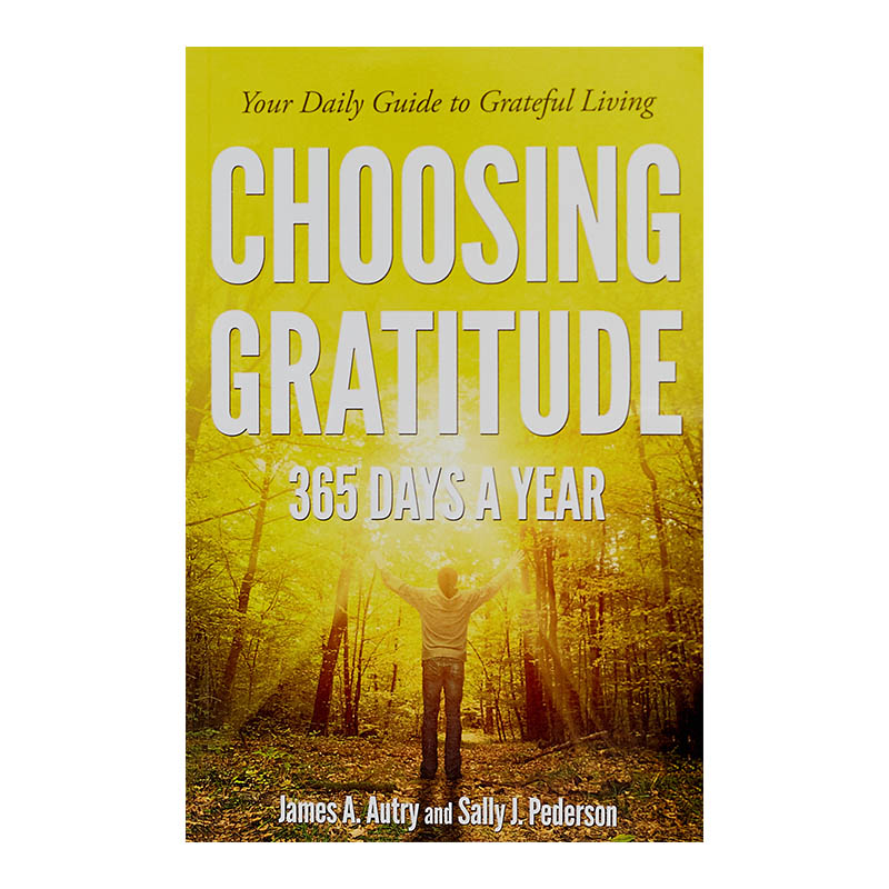 Co-authored with my wife, Sally J. Pederson, this is a day book that offers daily observations and lessons about gratitude. It is not specific as to year and can be used any time and in any year. Readers have praised it as an invaluable guide to how a sense of gratitude helps navigate this troublesome world. -