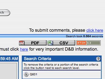 The magic Download CSV Button