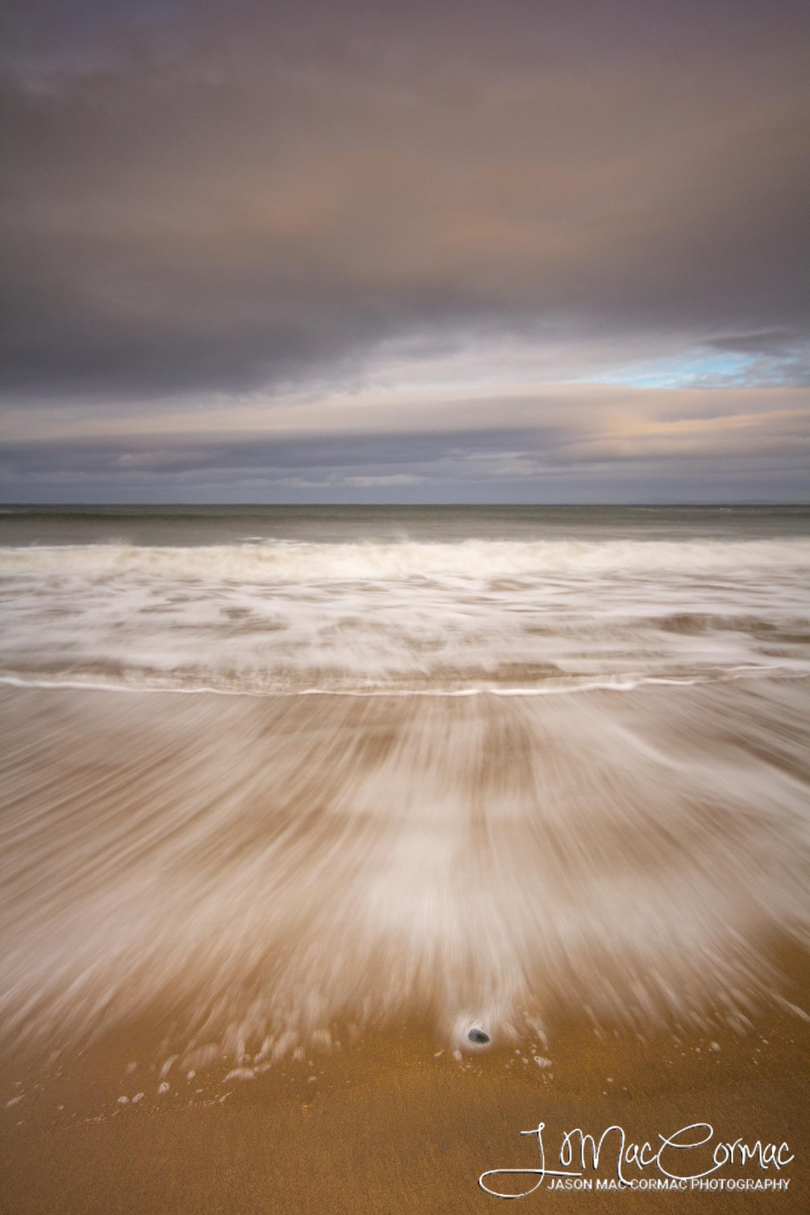 Rough seas on the West Coast