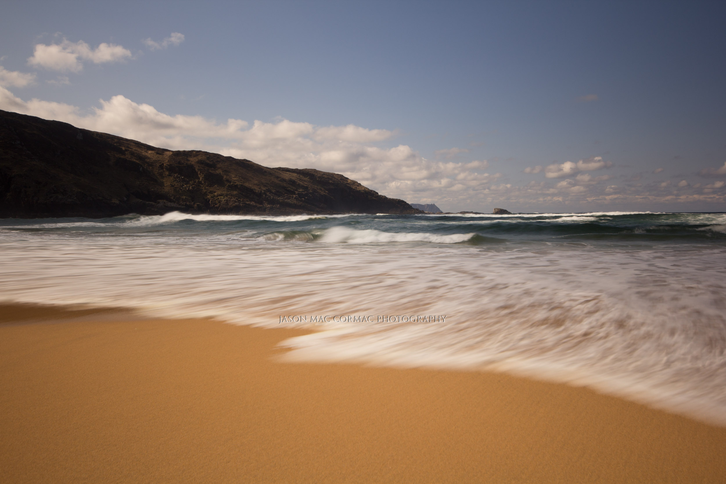 Secret beach, Donegal