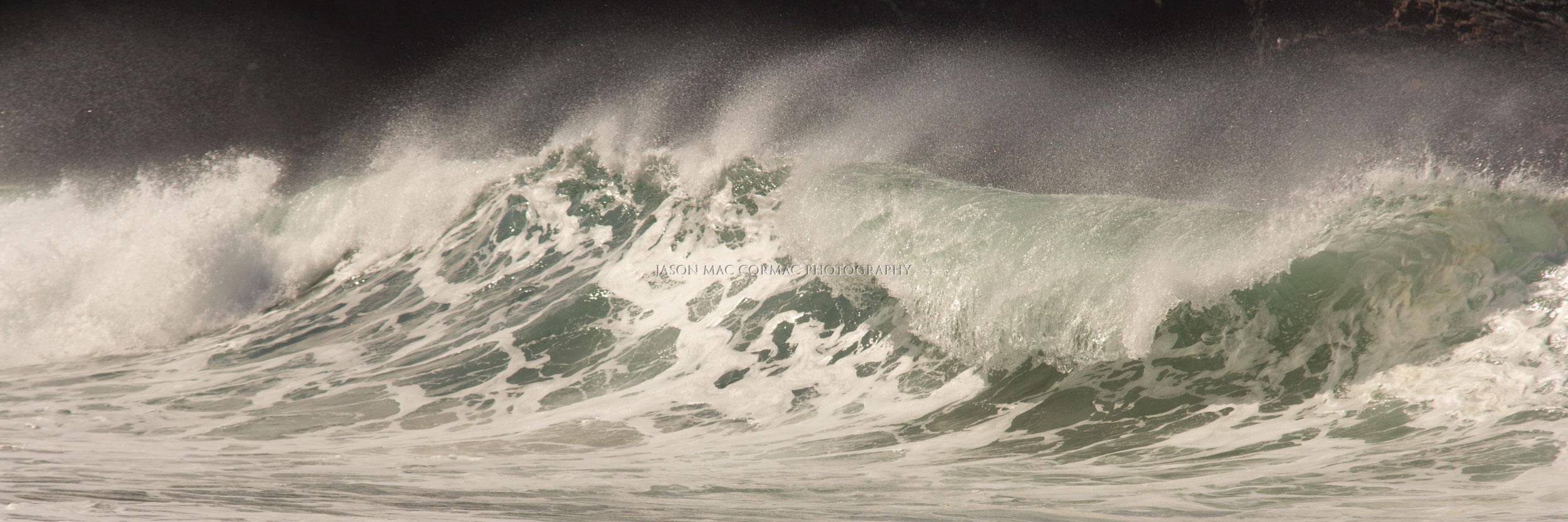 Crashing waves on the Wild Atlantic Way