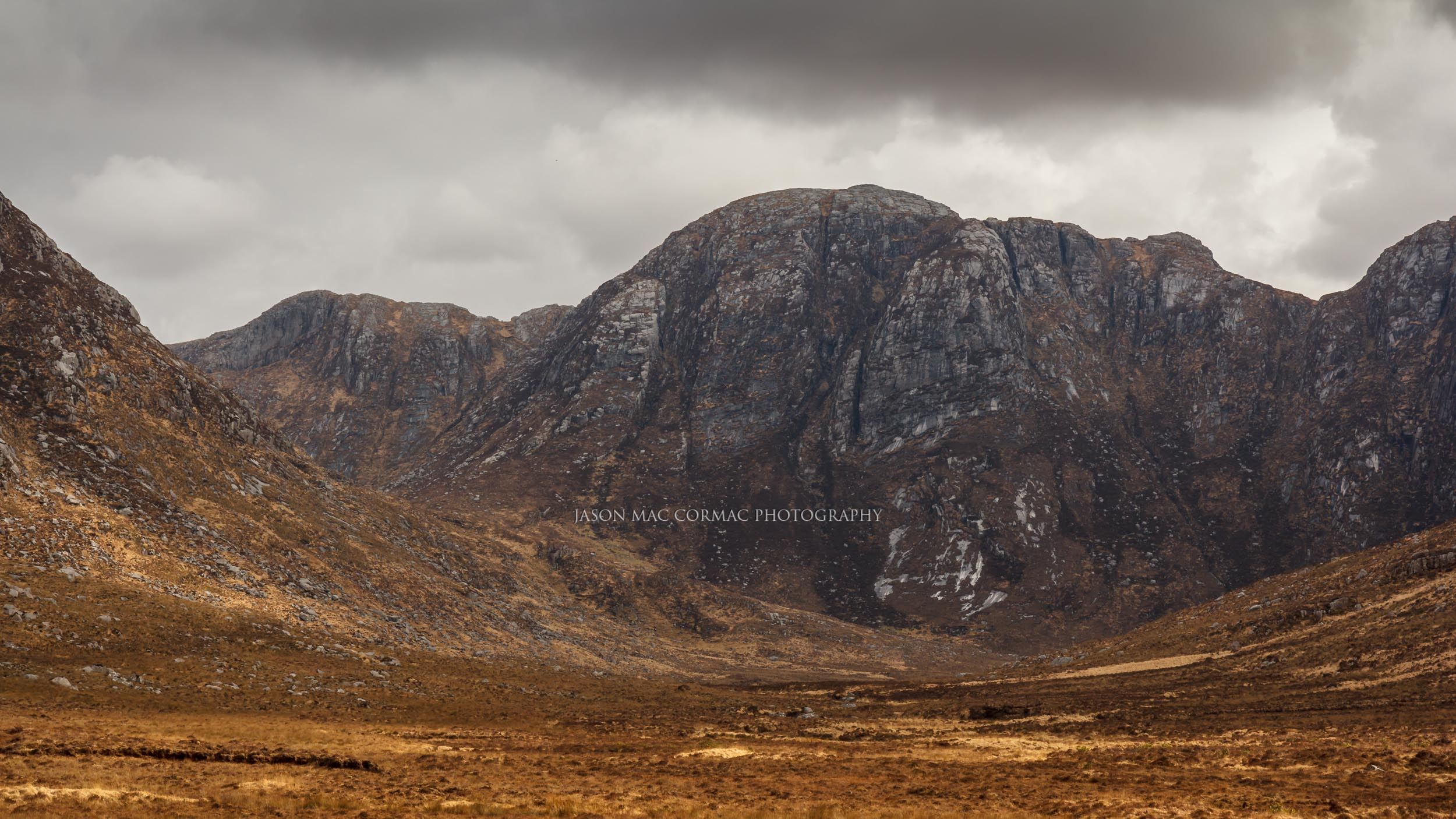 Rugged mountains of Donegal
