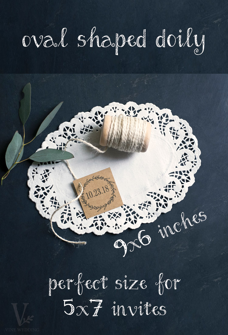 Easy DIY Paper Doily Wedding Invitation