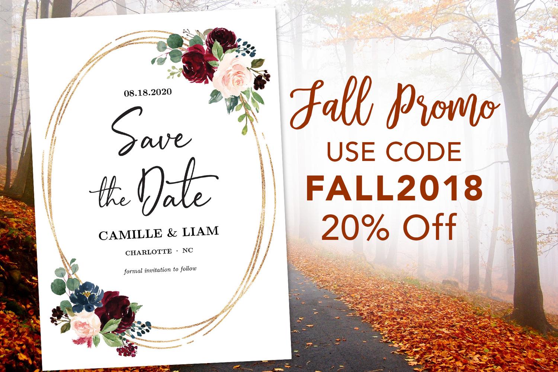 Vine Wedding 2018 Fall Promo